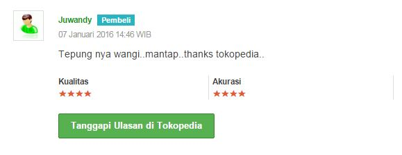 testimoni tokopedia loyal crepes
